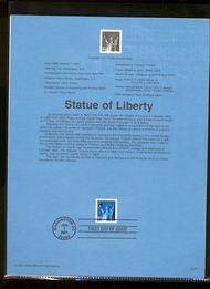 3466     34c Statue of Liberty Coil USPS Souvenir Page 4-Jan