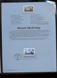 C137     80c Mount McKinley USPS Souvenir Page 26-Jan