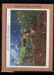 3506     34c Great Plains Prairie MS10 USPS Souvenir Page 27-Jan