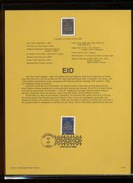 3532     34c EID USPS Souvenir Page Jan-39