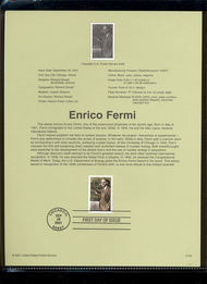 3533     34c Enrico Fermi USPS Souvenir Page Jan-40