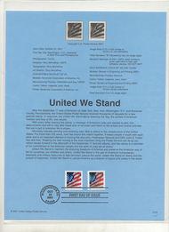 3549-50   34c United We Stamp Booklet & Coil Singles USPS Sou Jan-53