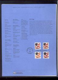 3620/3623-25 (37c)Flag-Four Formats USPS Souvenir Page 10-Feb