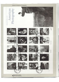 3649 37c Masters of American Photography USPS Souvenir Page 16-Feb