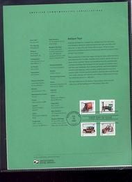 3642-45   37c Antiques Toys USPS Souvenir Page 20-Feb