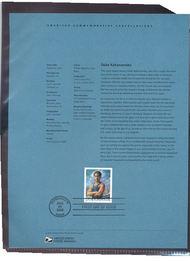 3660     37c Duke Kahanamoku USPS Souvenir Page Feb-29