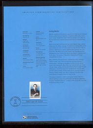 3669     37c Irving Berlin USPS Souvenir Page Feb-32