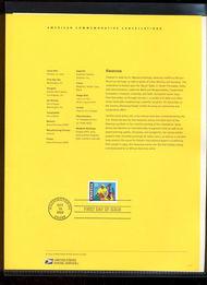 3673     37c Kwanzaa USPS Souvenir Page Feb-36