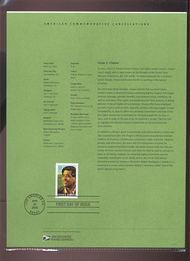 3781     37c Cesar E. Chavez Stamp USPS Souvenir Page 15-Mar