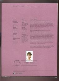 3786     37c Audrey Hepburn Stamp USPS Souvenir Page 19-Mar