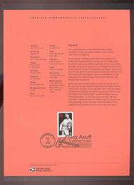 3812     37c Roy Acuff USPS Souvenir Page 28-Mar