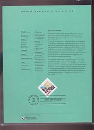 3813     37c Washington-District of Columbia USPS Souvenir P 29-Mar