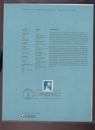 3830     37c Snowy Egret USPS Souvenir Page 5-Apr