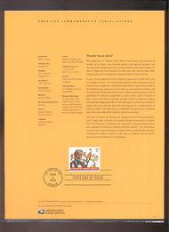 3835     37c Dr. Seuss USPS Souvenir Page 6-Apr