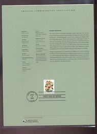 3837     60c Wedding Flowers USPS Souvenir Page 8-Apr
