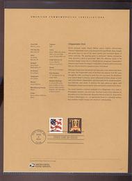 3750     4c Chippendale Chair USPS Souvenir Page 9-Apr