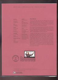 3839     37c Henry Mancini USPS Souvenir Page 12-Apr