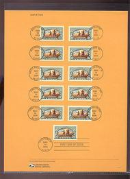 3854     37c Lewis and Clark USPS Souvenir Page 16-Apr