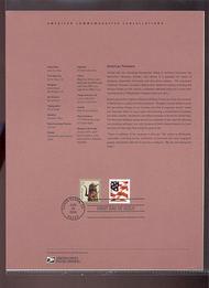 3750A    5c American Toleware USPS Souvenir Page 22-Apr