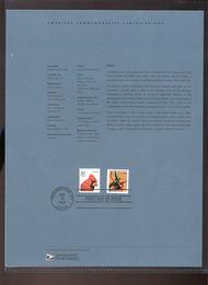 3770     (10c) Atlas, Rockefeller Center Coil USPS Souvenir 04-30a
