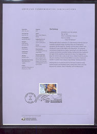 3905     37c Yip Harburg USPS Souvenir Page 8-May