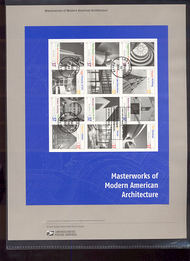 3910     37c Masterworks of Modern American Architecture She 10-May
