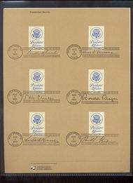 3930     37c Presidential Libraries set of 3 pages 13 stamps 15-May