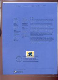 3979     (39c) True Blue Love Bird USPS Souvenir Page 1-Jun