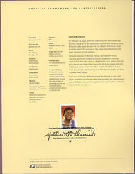 3996     39c Hattie McDaniel USPS Souvenir Page 5-Jun