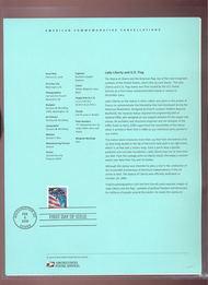 3980 9c Lady Liberty and Flag-SSP USPS Souvenir Page 06-07 7-Jun