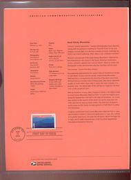 C140     75c Great Smoky Mountains USPS Souvenir Page 8-Jun