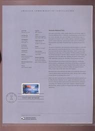 C141     84c Yosemite National Park USPS Souvenir Page 9-Jun