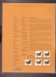 4001-4002  24c Common Buckeye Butterfly-5 Versions USPS Souve 16-Jun