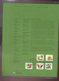 4003-4017  39c Crops of the Americas-3 Versions USPS Souvenir 17-Jun