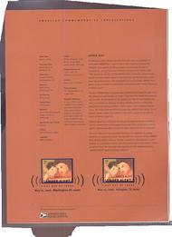 4031     39c AMBER Alert USPS Souvenir Page 26-Jun
