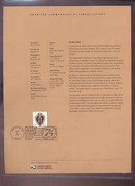 4032     39c Purple Heart USPS Souvenir Page 27-Jun