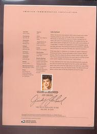 4077     39c Judy Garland USPS Souvenir Page Jun-33