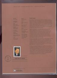 4078     39c Ronald Reagan USPS Souvenir Page Jun-34