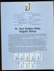 2170 3c Dr. Paul D. White USPS 8624 Souvenir Page 8624