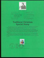 2244 22c Christmas Madonna USPS 8629 Souvenir Page 8629