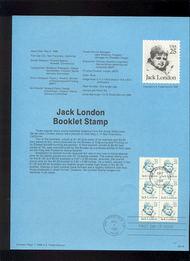 USPS Souvenir Page 88-16   2197a     25c London Bklt(6 88-16