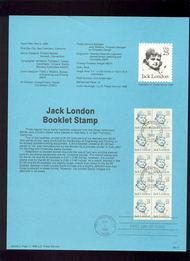 USPS Souvenir Page 88-17   2183a     25c London Bklt ( 88-17