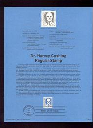 USPS Souvenir Page 88-26   2188      45c Dr. Harvey Cus 88-26