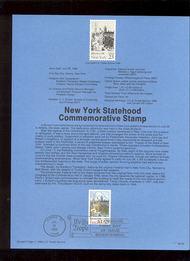 USPS Souvenir Page 88-36   2346      25c New York 88-36