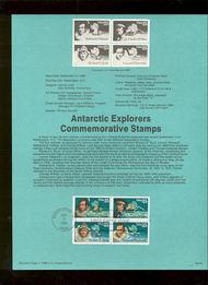 USPS Souvenir Page 88-44   2389a     25c Antarctic Exp  88-44