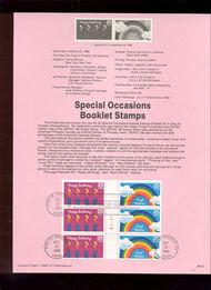 USPS Souvenir Page 88-53   2398a     25cThinking Bklt ( 88-53