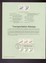USPS Souvenir Page 91-24   2453/57    5c, 10c Coils 91-24