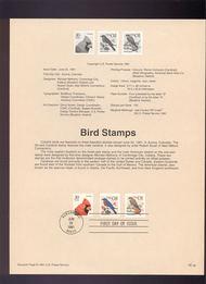 USPS Souvenir Page 91-30   2481-2/2489  1c/30c 91-30