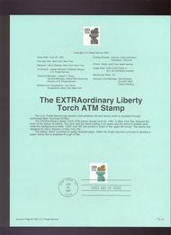 USPS Souvenir Page 91-31   2531A     29c Liberty 91-31