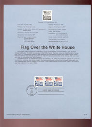 USPS Souvenir Page 92-9   2609      29c White House Co 92-9